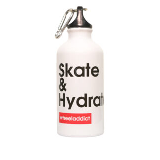 OUR WHEELADDICT SKATE AND HYDRATE BOTTLE